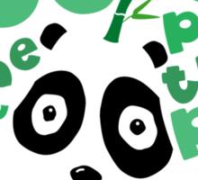 Pandapear Sticker