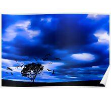 Blue Fantasy Poster