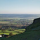 Lower Wharfedale from Almscliff Crag by WatscapePhoto