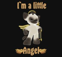 I`m a little angel Baby Tee