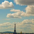 Paris - view from Pantheon by retouch
