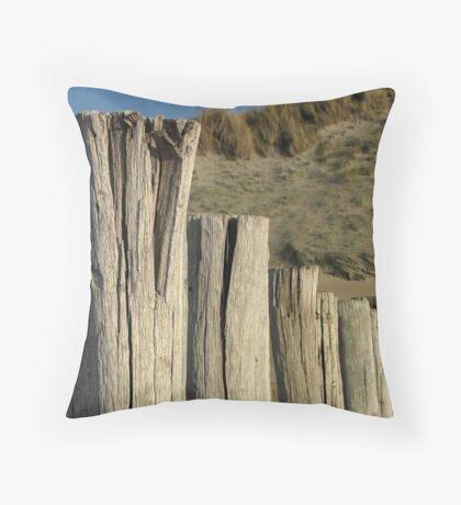 Top of breakwaters Throw Pillow