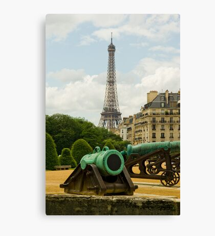Paris, France - Eiffel tower Canvas Print