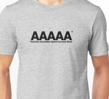 American Association Against Acronym Abuse Unisex T-Shirt