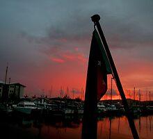 Papua New Guinea Sunset - Sailing through Paradise by eyesoftheeast