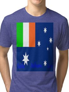 Irish Oz  Tri-blend T-Shirt