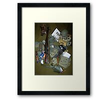 Manteuffel's Fifth Army Awaits you in the Ardennes Framed Print