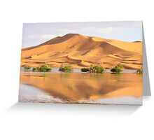 an amazing Morocco landscape Greeting Card