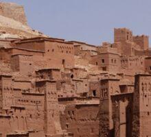 an awe-inspiring Morocco landscape Sticker