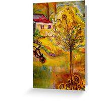 Hannah's Magical Wish Granting Tree Greeting Card