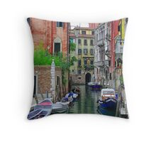Parked Up Throw Pillow