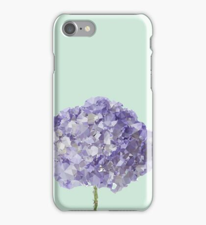 Meshed Up Hydrangea iPhone Case/Skin