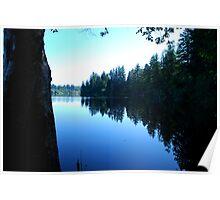 Lake Kapowsin, Washington Poster