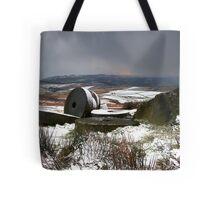 Passing Snowstorm Tote Bag