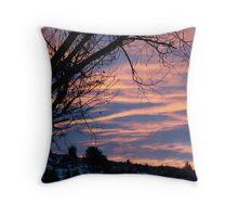 Early Dawn Sunrise Throw Pillow
