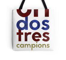 Barcelona: Treble Winners Shirt Alternate Tote Bag