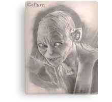 LOTR Gollum Metal Print