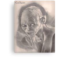 LOTR Gollum Canvas Print
