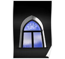Christchurch - window Poster
