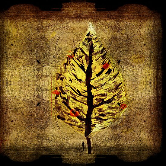 man and christmas tree by frederic levy-hadida