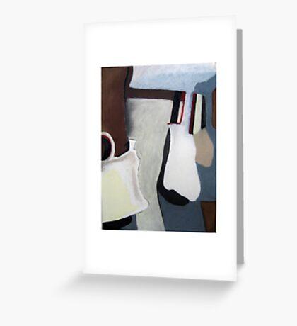 Bag Lady Greeting Card