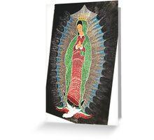 Virgin Maria Greeting Card