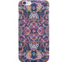 Vivid Celebration - a pattern in magenta, purple and orange iPhone Case/Skin
