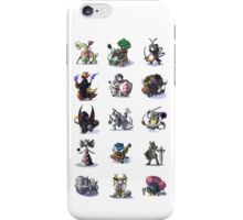 Final Fantasy Pokemon Collection Set 1 iPhone Case/Skin