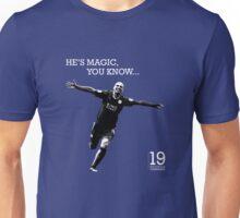 He's Magic, You Know... Esteban Cambiasso Unisex T-Shirt