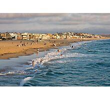 Venice Beach Sunset Photographic Print