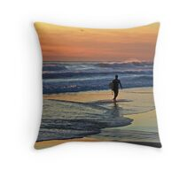 Would one day be eternity ...I would spend it out at sea ... Throw Pillow
