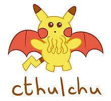 Cthulchu - Cthulhu Pikachu by Cruithne