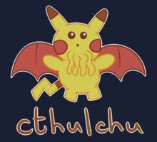Cthulchu - Cthulhu Pikachu One Piece - Short Sleeve