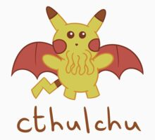 Cthulchu - Cthulhu Pikachu One Piece - Long Sleeve