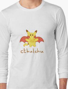 Cthulchu - Cthulhu Pikachu Long Sleeve T-Shirt