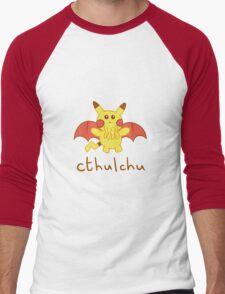 Cthulchu - Cthulhu Pikachu Men's Baseball ¾ T-Shirt