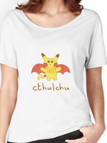 Cthulchu - Cthulhu Pikachu Women's Relaxed Fit T-Shirt