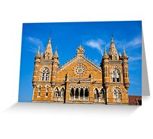 Victoria Terminus Greeting Card