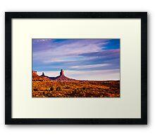 Monument Valley Desert Framed Print