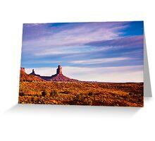 Monument Valley Desert Greeting Card