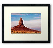 Monument Valley Pinnacle Framed Print