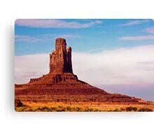Monument Valley Pinnacle Canvas Print