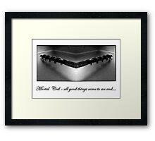mortal coil Framed Print