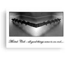 mortal coil Metal Print