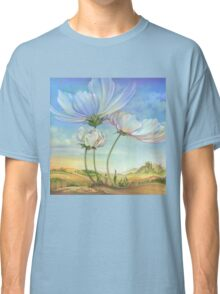 In the Half-shadow of Wild Flowers Classic T-Shirt