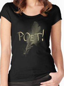 Poet Women's Fitted Scoop T-Shirt