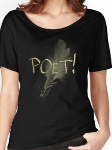 Poet Women's Relaxed Fit T-Shirt