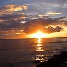 Sunset in Barbados by Sviatlana