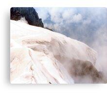 Glacial Edge - Jungfrau, Switzerland Metal Print