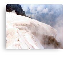 Glacial Edge - Jungfrau, Switzerland Canvas Print